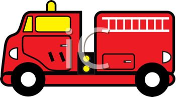 350x194 Cartoon Of A Firetruck Emergency Vehicle