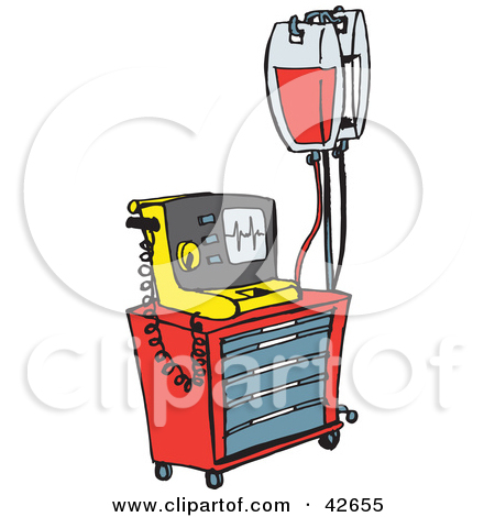 450x470 Hospital Cart Clipart