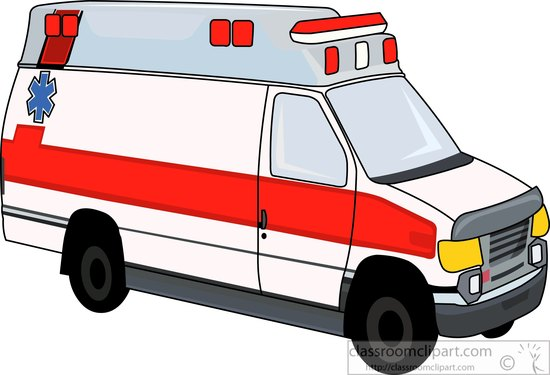 550x375 Ambulance Clipart