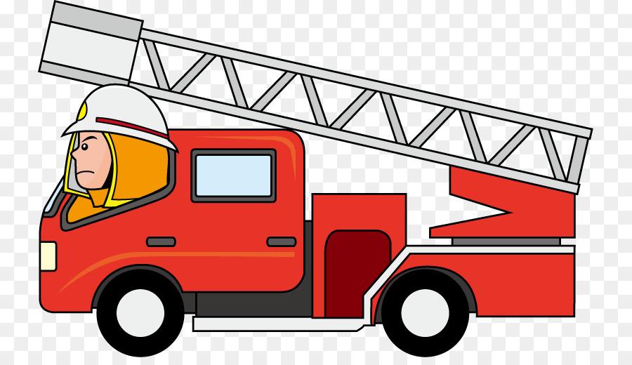 900x520 Car Fire Engine Truck Firefighter Clip Art