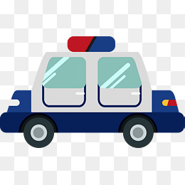 260x260 Cartoon Police Car Png, Vectors, Psd, And Clipart For Free