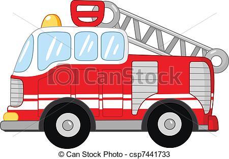 450x314 Fire Truck Vectors