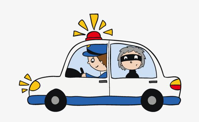 650x400 Open Police Car Police, Arrest, Escapee, Policemen Png Image