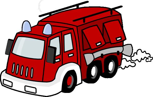600x380 Red Firetruck Clip Art