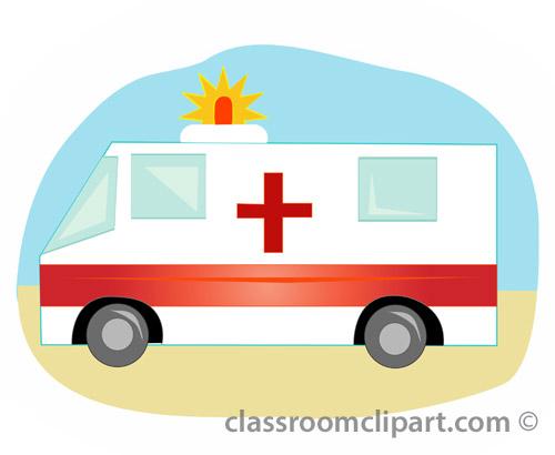 500x410 Ambulance Emergency Vehicle Clipart Kid 3