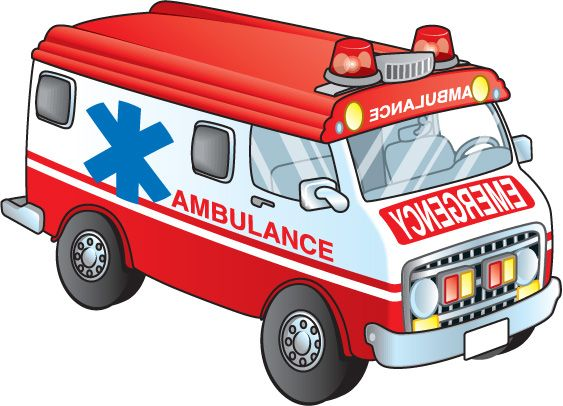 563x406 Ambulancia Oficios Clip Art, Transportation