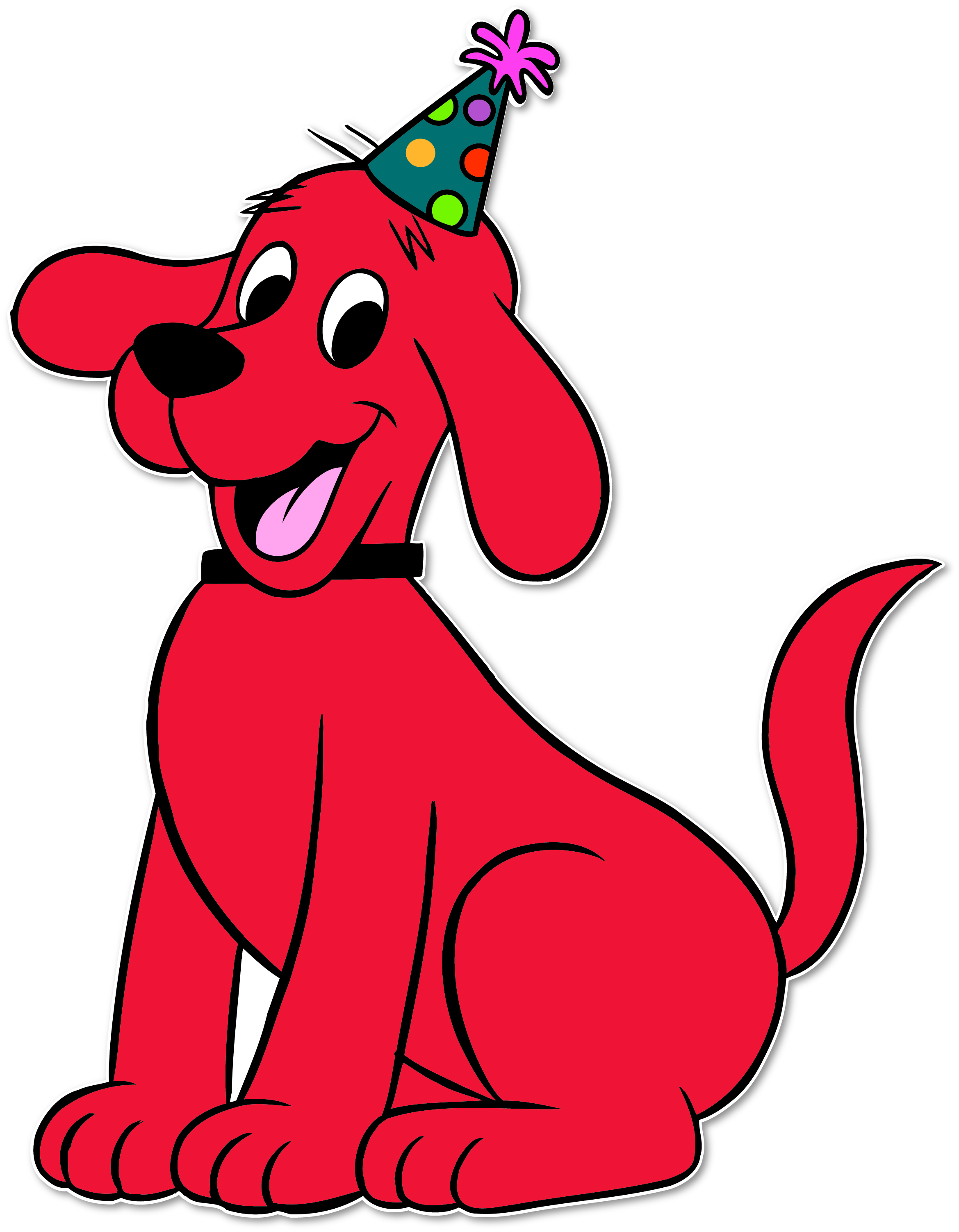 2339x3006 Clifford The Dog Clipart