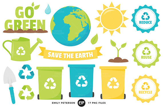570x379 Earth Day Clip Art Recycle Clipart Eco Friendly Clip Art