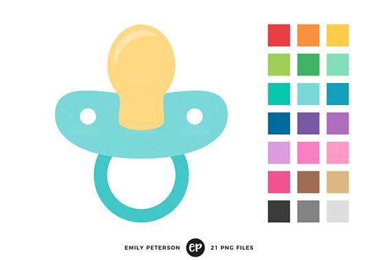 570x379 50% Off Sale Pacifier Clip Art Baby Shower Clipart Nursery