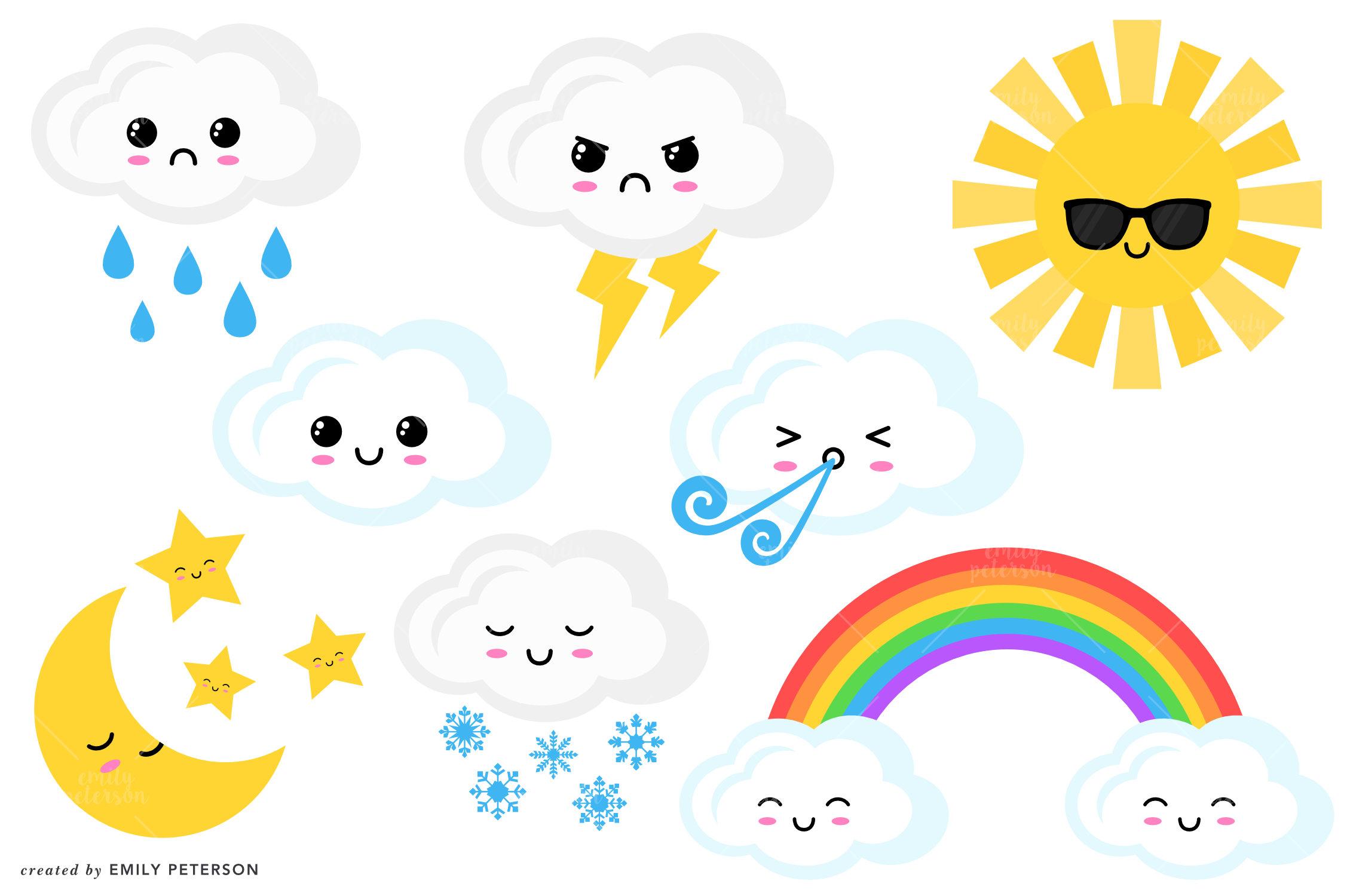 2254x1500 Thunderstorm Clipart Cute