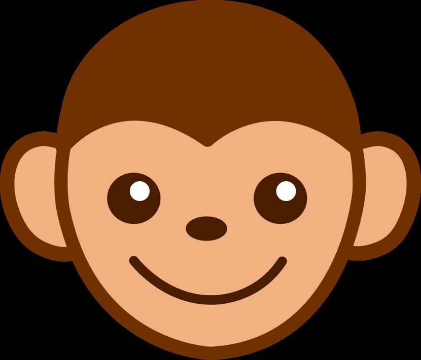 830x711 Baboon Clipart Baby