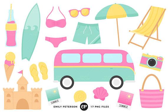 570x379 Beach Clip Art Summer Clipart Ocean Clip Art Commercial