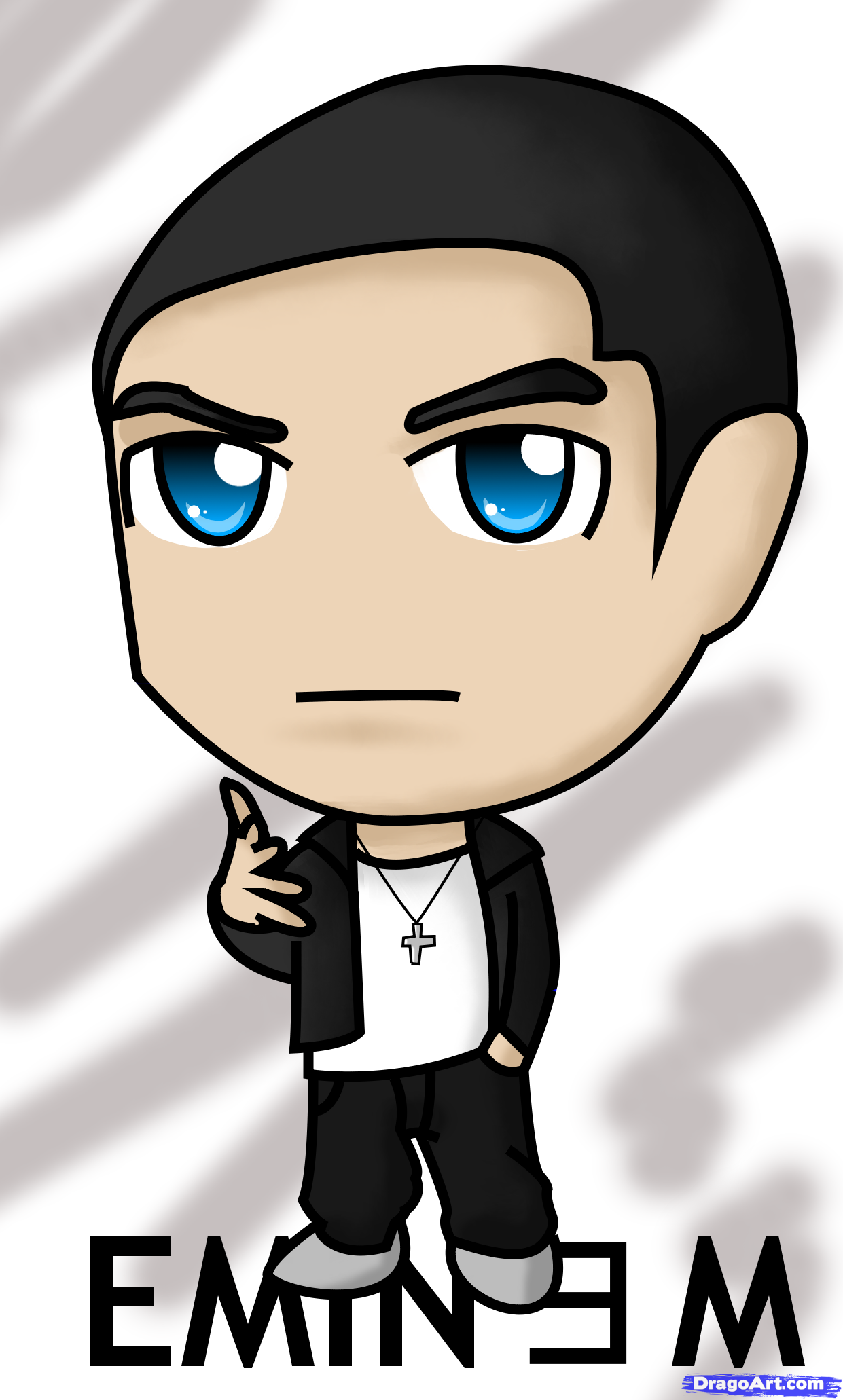 1241x2062 Eminem Clipart Group