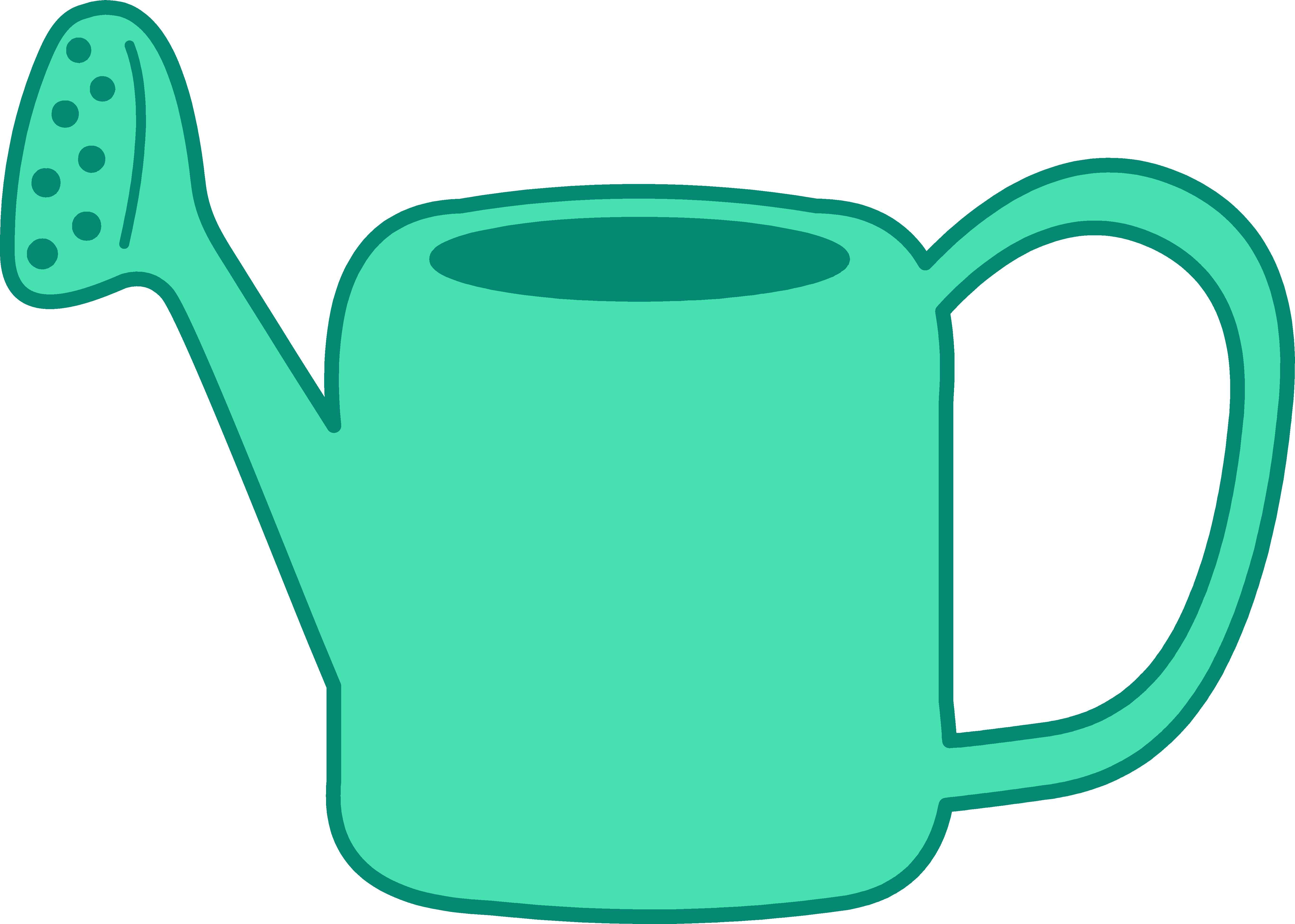 5473x3907 Watering Can Clip Art 8741443