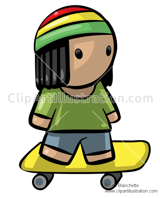 528x650 Youthful Figure Clipart