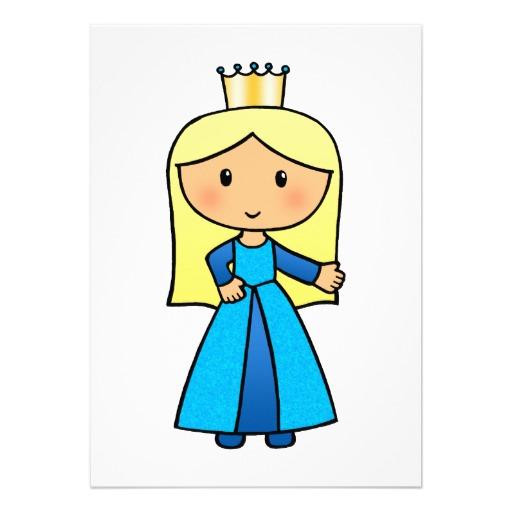 512x512 Clip Art Girl In Blue Dress Clipart