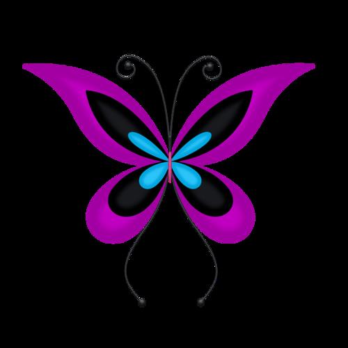 500x500 Lacarolita Emo Girl Butterfly1.png Butterflies Amp Bugs