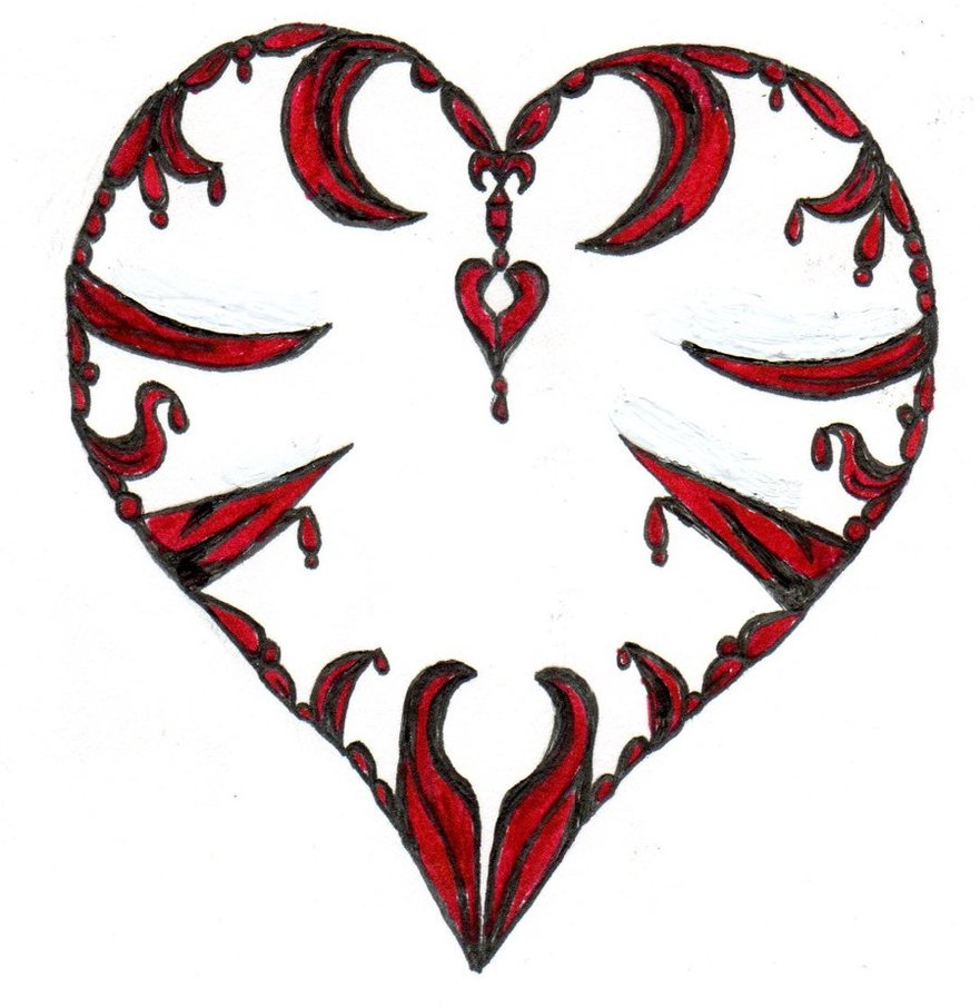 881x906 Emo Heart 3 By Beatles4eva
