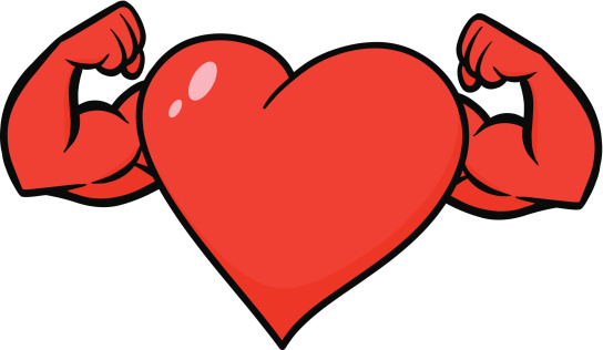 544x316 Collection Of Strong Heart Clipart High Quality, Free