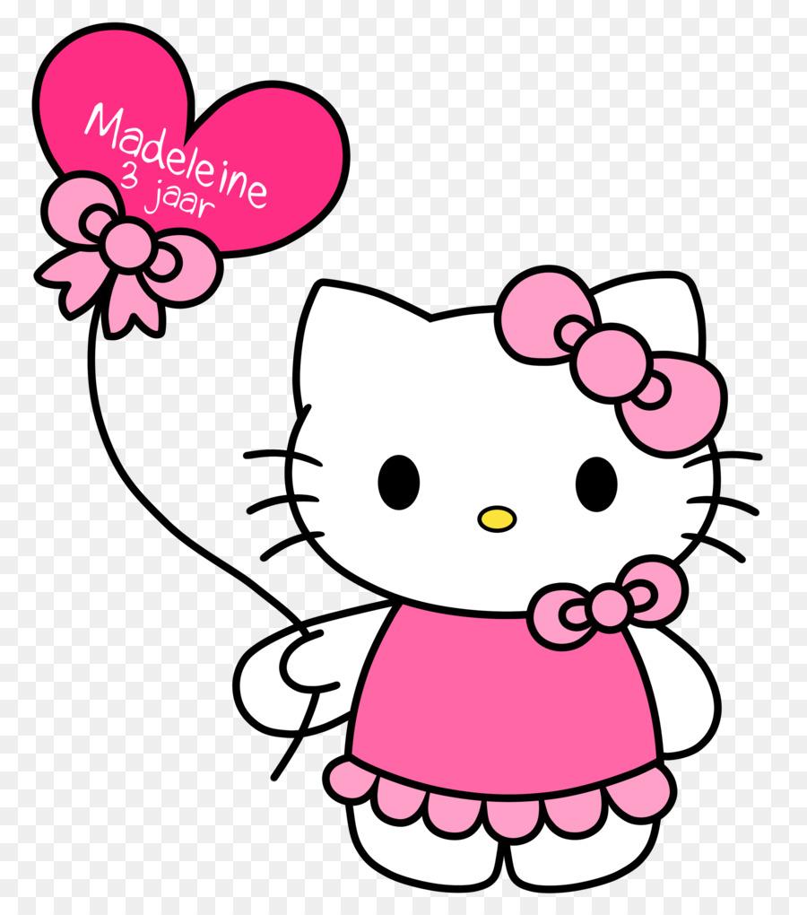 900x1020 Hello Kitty Clip Art
