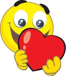 262x300 Heart Smiley Faces Clip Art Examples And Forms