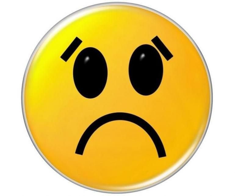 770x642 Stylish Idea Frown Face The Top 5 Best Blogs On Sad Clipart Clip