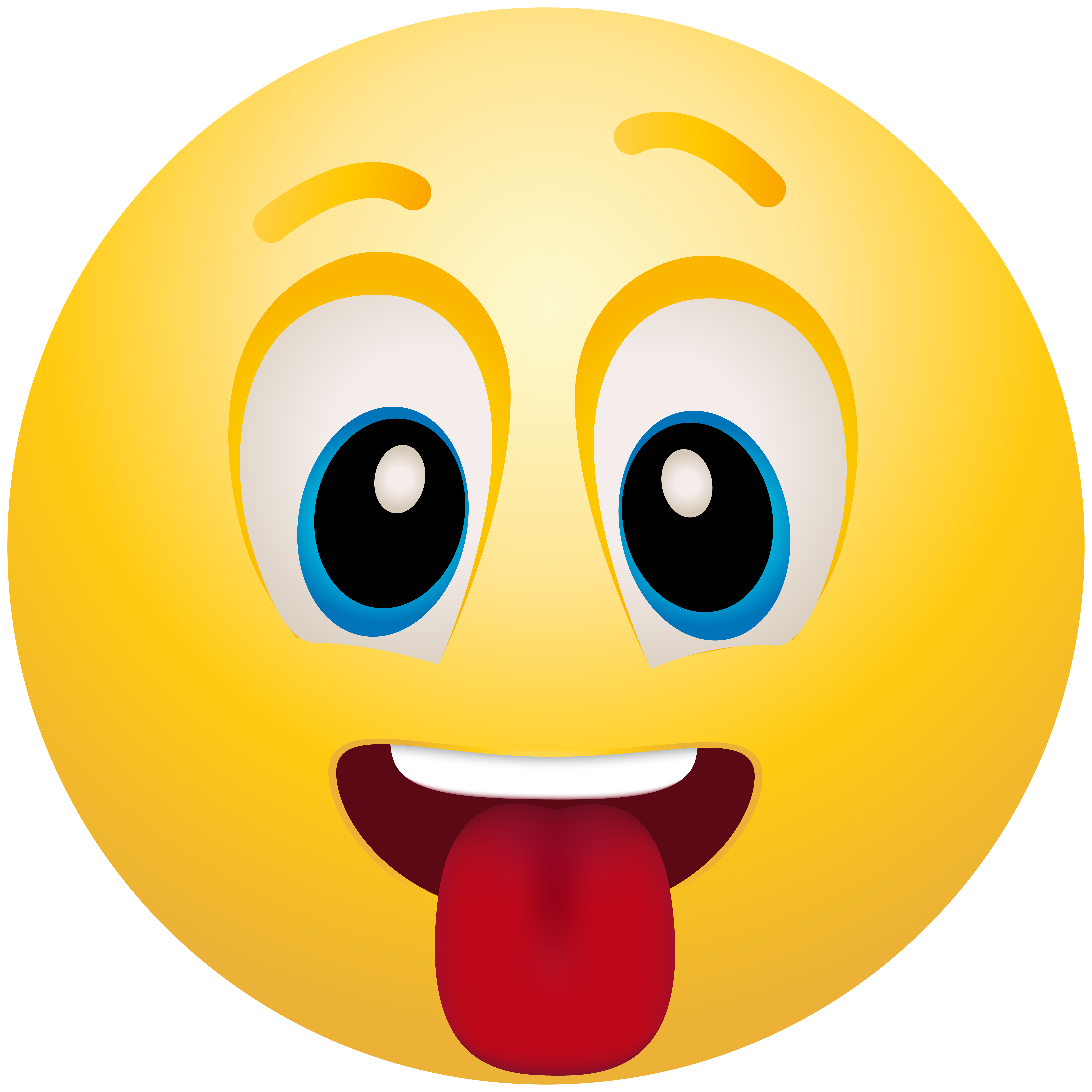 8000x8000 Tongue Out Emoticon Png Clip Art