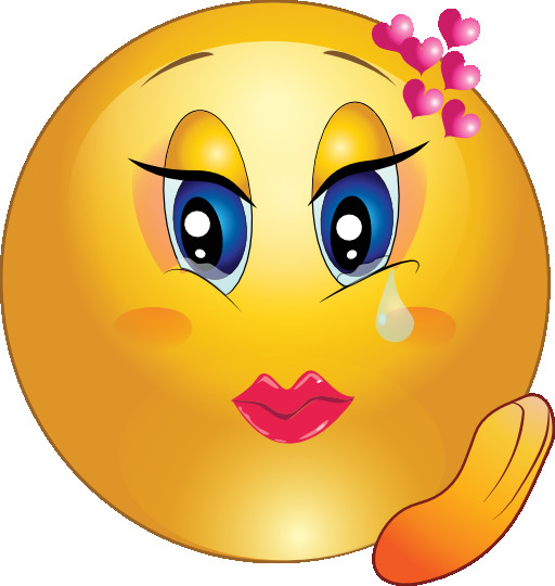 512x540 Emoji Smiley Clipart