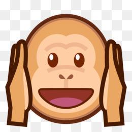260x260 The Evil Monkey Emoji Three Wise Monkeys Clip Art