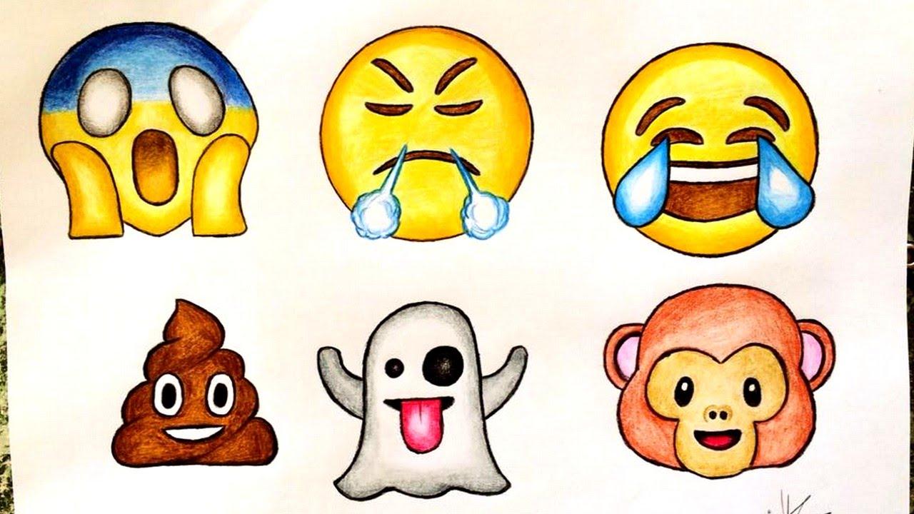 1280x720 Cute Emoji Drawings