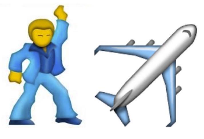 713x485 Airplane Clipart Emoji