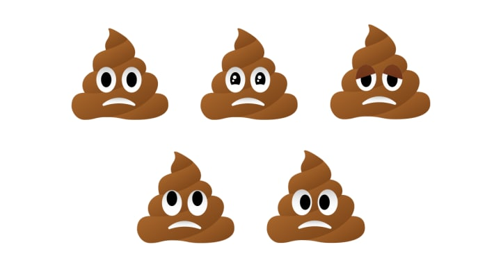 710x369 Frowning Poop Mockup Poop Emoji Know Your Meme