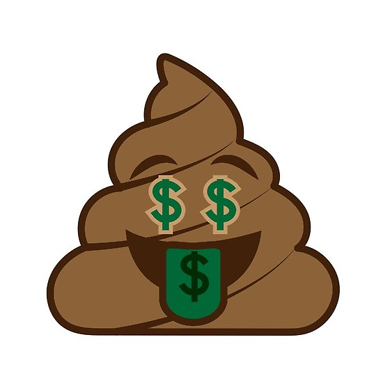 550x550 Poop Emoji Money Mouth Posters By Jvshop Redbubble