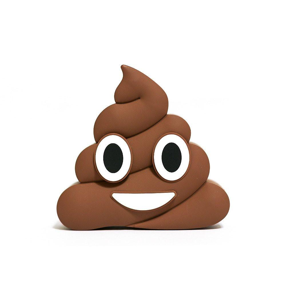 1000x1000 Poop Emoji Power Bank