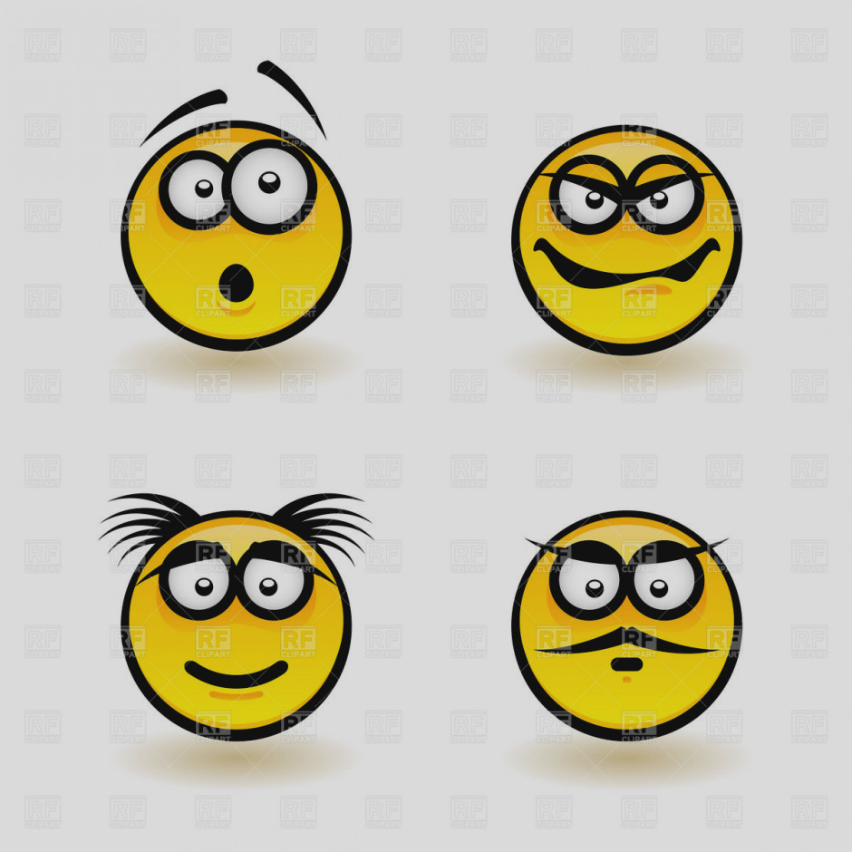 940x940 Awesome Of Smiley Faces Clip Art Face Emotions Clipart Panda Free