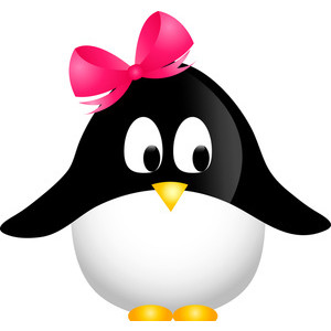 300x300 Cartoon Penguin Clipart