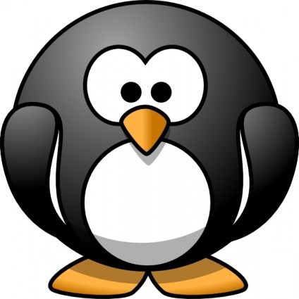 424x425 Cartoon Penguin Clip Art Clipart Panda