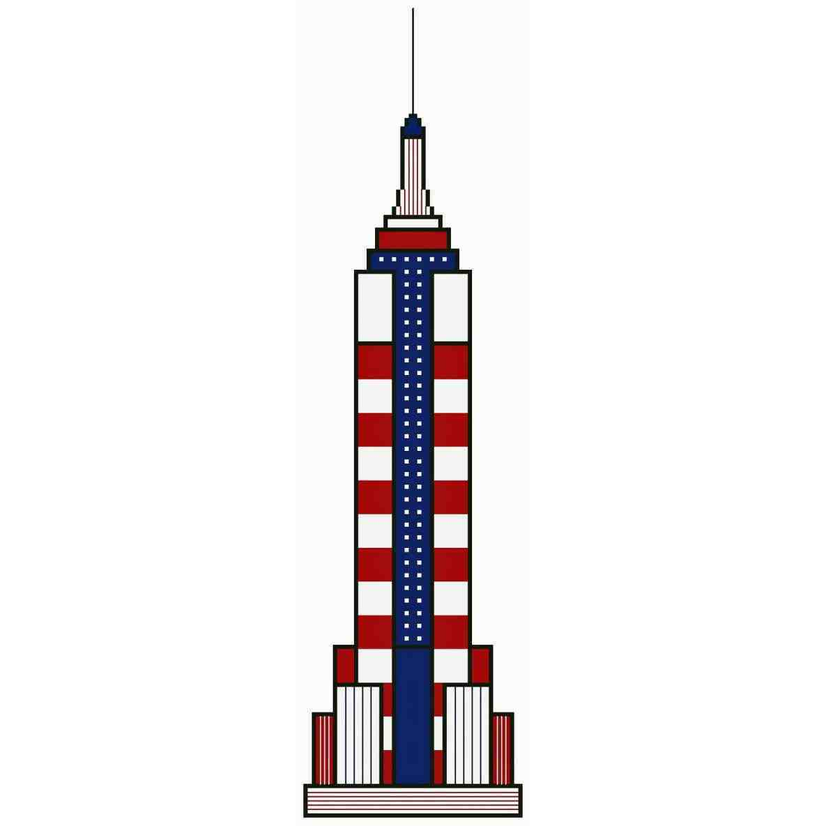 1185x1185 Empire State Building Clip Art
