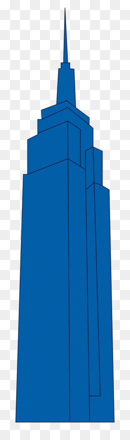 260x880 Empire State Building Clip Art