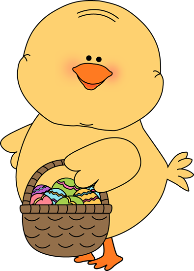 395x550 Easter Chick Clip Art