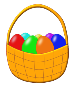 261x300 Empty Easter Basket Clipart Happy Easter 2018