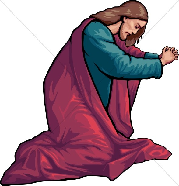 588x612 Jesus Walking In Garden Free Clipart Amp Jesus Walking In
