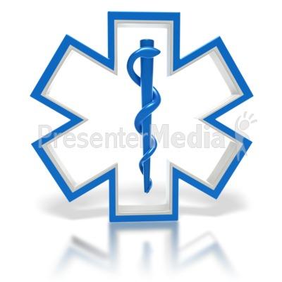 400x400 Star Of Life Medical Symbol