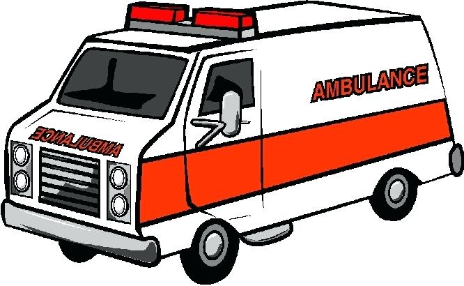 666x410 Ambulance Pictures Clip Art Ambulance Van Over White Royalty Free