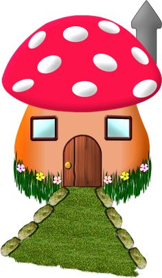 236x404 Mushroom House For An Enchanted Forest Woodland Themed Party