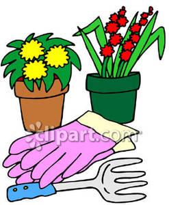 247x300 Gardening Gloves Clipart