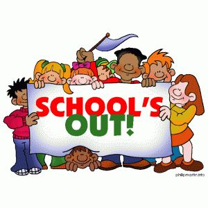 End Of School Clipart