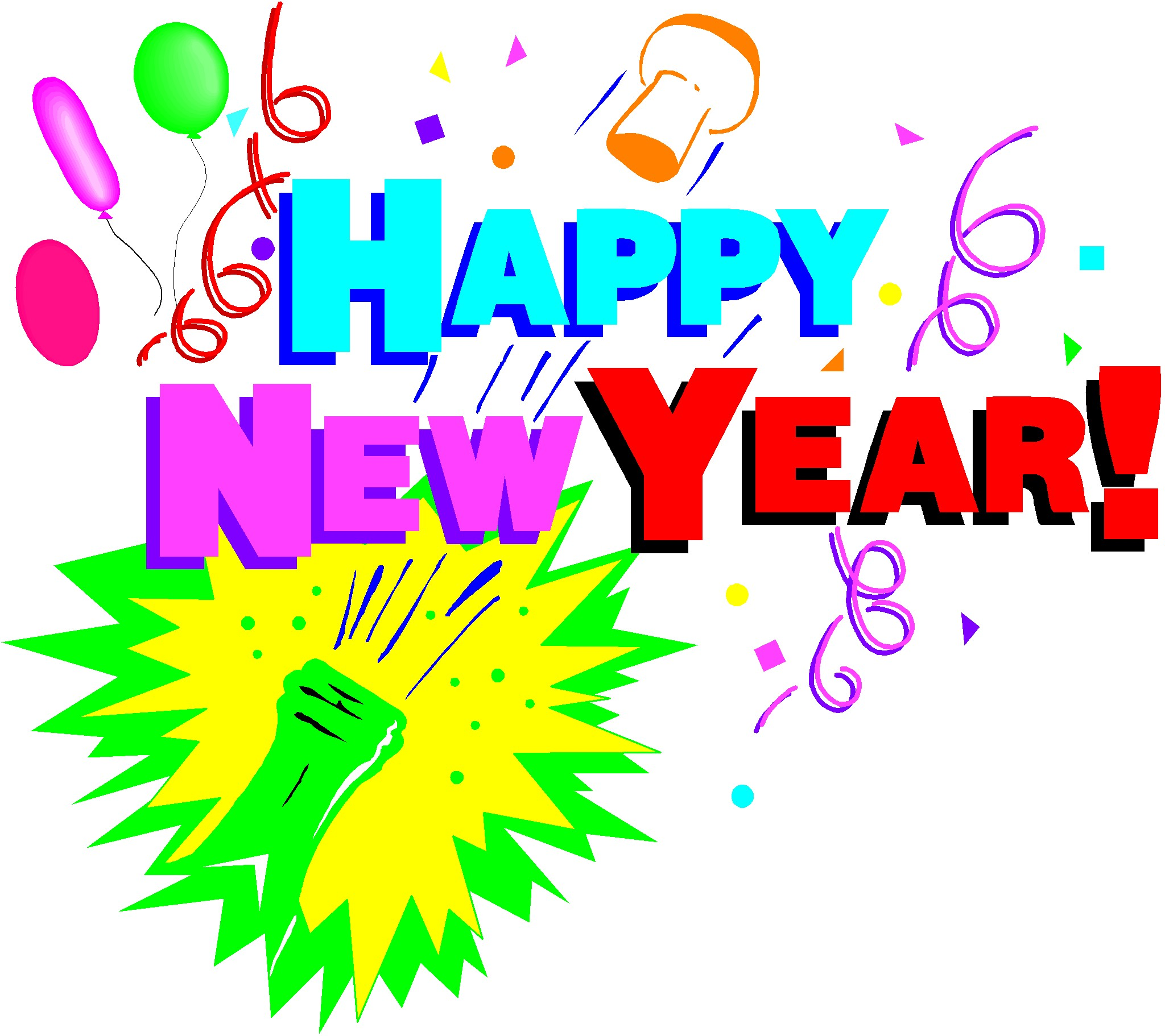 2048x1822 Year End Party New Year Clip Art New Years Clip Art Animated Free