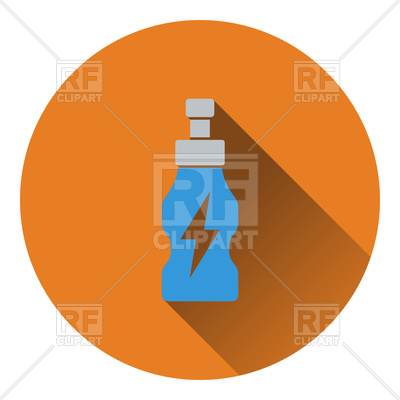400x400 Icon Of Energy Drinks Bottle Royalty Free Vector Clip Art Image