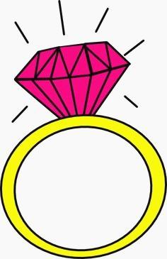236x365 Diamond Ring Cartoon Unique Engagement Ring Cartoon Clip Art 9